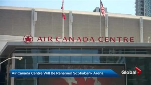 Toronto's Air Canada Centre to be renamed